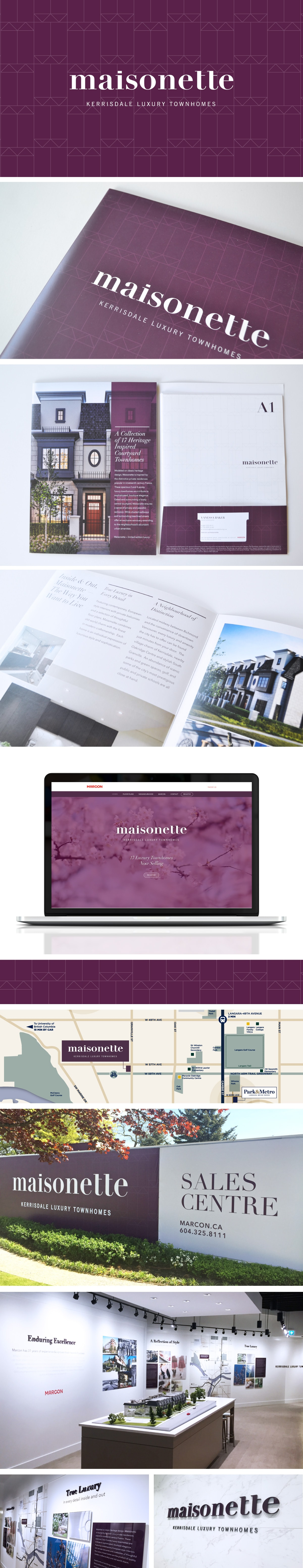 maisonette graphic design portfolio